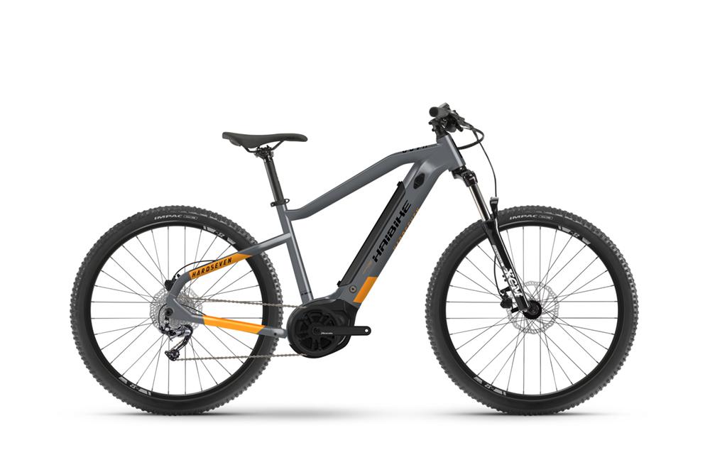 2021 Haibike HardSeven 4 400Wh Electric Hardtail Mountain Bike