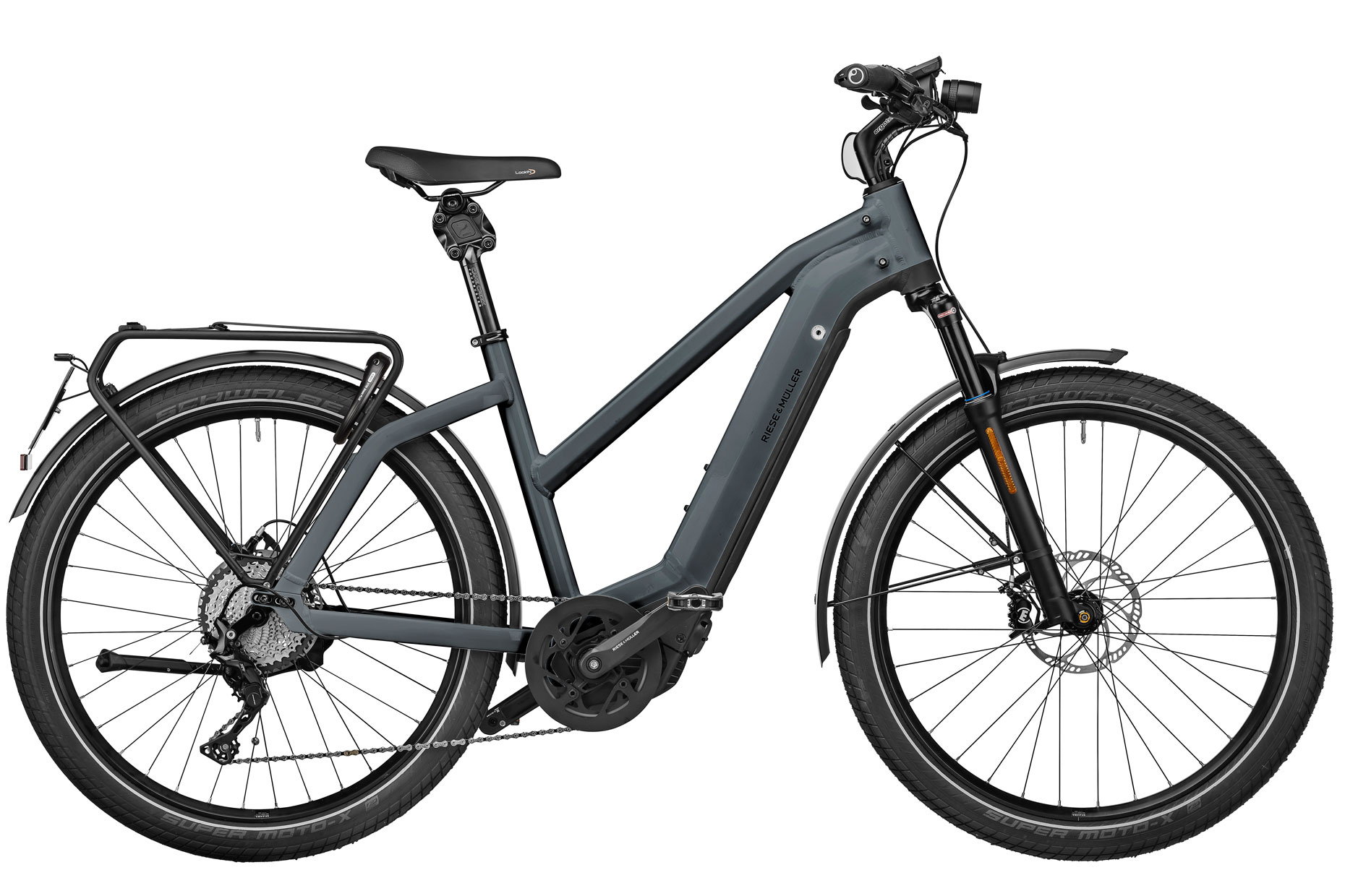 2021 Riese and Muller Charger3 Mixte GT Touring HS Electric Bike