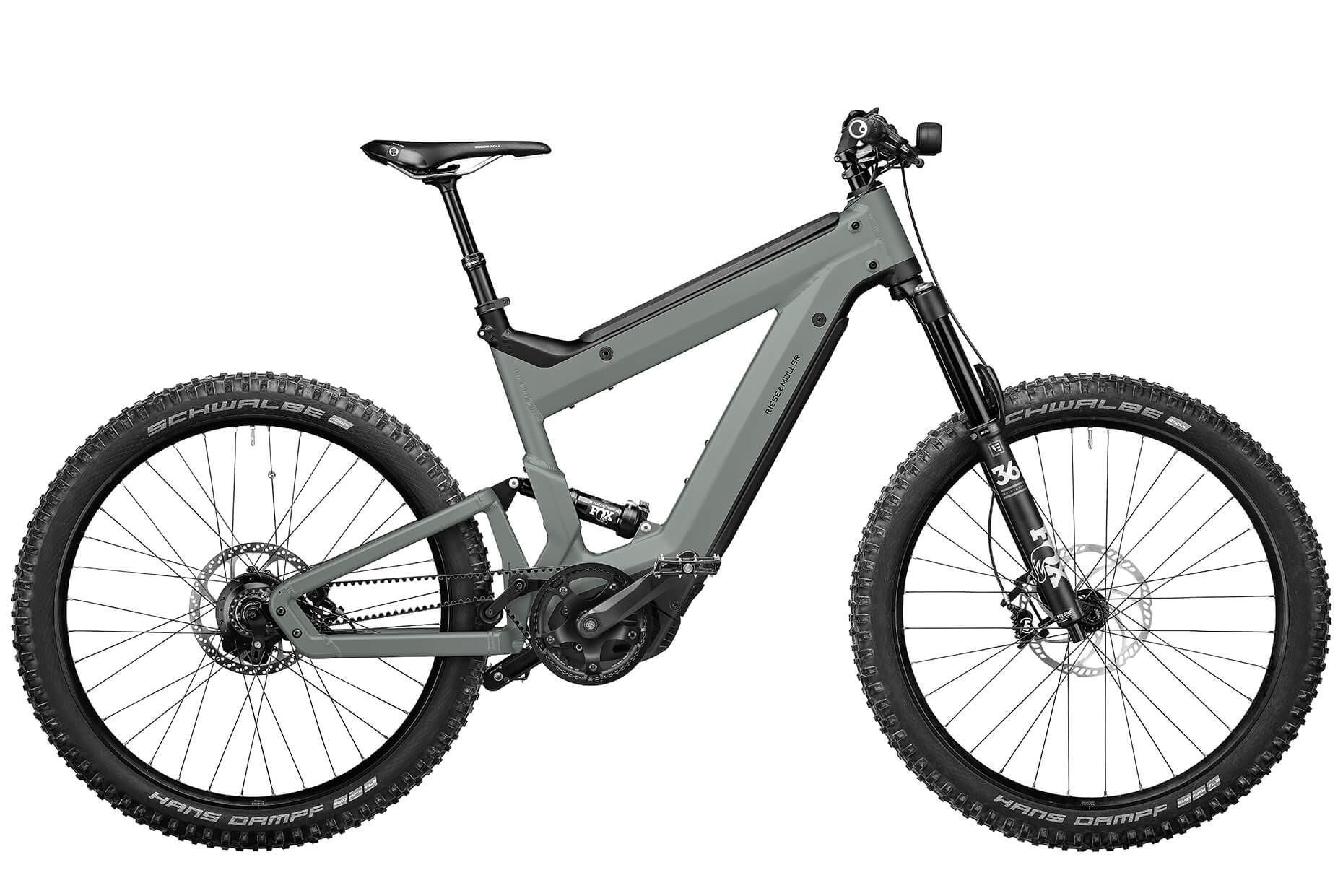 2021 Riese and Muller Superdelite Mountain Rohloff Full Suspension EBike