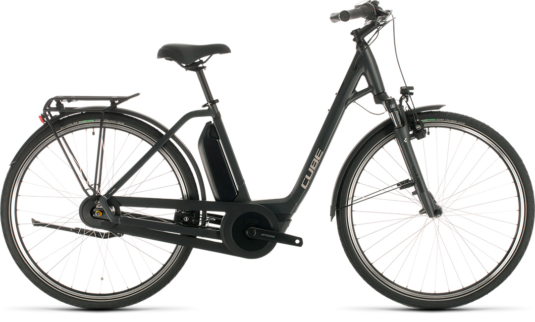 Cube Export Town Hybrid One 400 Low-Step Electric Bike 2021
